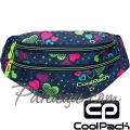 Cool Pack Madison Чанта за кръста Lime Hearts B64010
