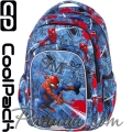 Cool Pack Spark L Ученическа раница Spiderman Denim B46304