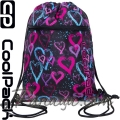 Cool Pack Vert Спортна торба Drawing Hearts B70038