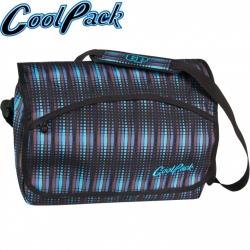 5a5c27bb744 Cool Pack Reporter Blue Flash Ученическа чанта за рамо 49092