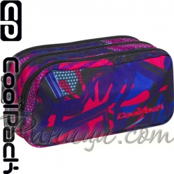 Cool Pack Primus Несесер с три ципа Crazy Pink Abstract 87704