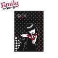Папка с ластик Emily the Strange
