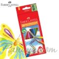 FABER CASTELL 20 Цветни молива и острилка JUNIOR GRIP