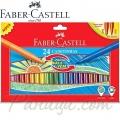 Faber Castell Комплект флумастери 24 цвята Cushion