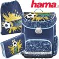 2017 Hama Football Ергономична раница с аксесоари