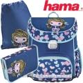 2017 Hama Litte Girl Ергономична раница с аксесоари