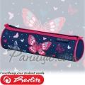 2020 Herlitz Loop Овален несесер Butterfly 50026364
