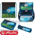 2020 Herlitz Loop Plus Ергономична ученическа раница Soccer 50025756