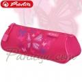 2014 Herlitz Flexi Несесер с един цип 11351426 Pink Butterfly