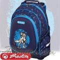 *Herlitz Bliss Blue Dino Ученическа раница 50014019