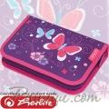 *Herlitz Smart Girls Несесер с 31 аксесоара Purple Butterfly