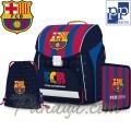 FC Barcelona Ученическа раница с аксесоари Premium Cool 0-90318 Karton P+P