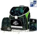 Jurassic World Ученическа раница с аксесоари Premium Cool 0-90518 Karton P+P