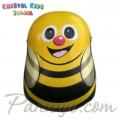 Kristal Kids School Детска раница с капак Baby Bee