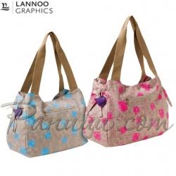 Mexx Love Birds Чанта за рамо с две дръжки Lannoographics