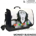 Monkey Business Чанта за рамо Lannoographics