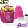 Lego Раница за училище Explorer Friends All Girls 14053
