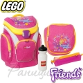 Lego Раница за училище Outdoor Friends Pink 13363
