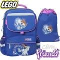 Lego Раница за училище Starter Plus Friends Horse 15114