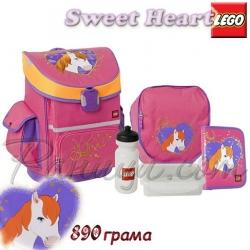 Lego Active Ученическа раница с аксесоари Girls Horse 12074