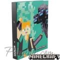 Minecraft Папка-класьор с рингове Alex and Ender Dragon MF4487501