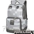 Minecraft Ученическа раница Gray Diamond