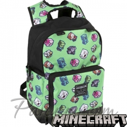 Minecraft Ученическа раница Mini Mobs Cluster