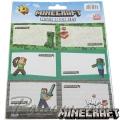 Minecraft Етикети за тетрадки 18бр MF4480508