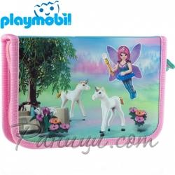 Playmobil Ученически празен несесер с един цип Fairies 503020010