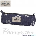Replay Fashion Girls Blue Несесер кръгъл 43895