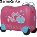 Samsonite Куфарче за яздене на 4 колела Dreamrider Babrbie Pink Dream