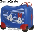 Samsonite Куфарче за яздене на 4 колела Dreamrider Minnie/Mickey Stripes