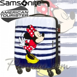 Samsonite Disney Legends Детски куфар 65 см. Minnie Kiss American Tourister