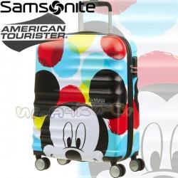 Samsonite Disney Wavebreaker Детски куфар 55 см. Mickey Close-Up American Touris