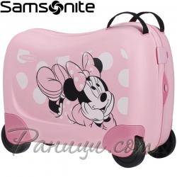 Samsonite Куфарче за яздене на 4 колела Dreamrider Disney Minnie Glitter