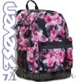 Seven 7.1 Ергономична раница за училище Pro Flowers 62390