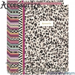 Accessorize Класьор 06224 Leopard Stationery Team