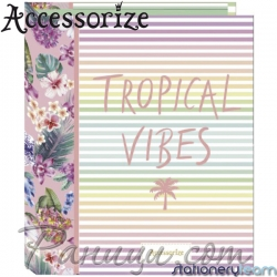 Accessorize Класьор 06238 Tropical Vibes Stationery Team