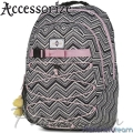 2018 Stationery Team Раница за училище Accessorize 01126 Grey