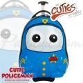 The Cuties and Pals - Детски куфар за път Полицай