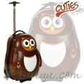 The Cuties and Pals 4803047 - Куфар тролей Бухалът Пипи