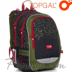 Topgal Chilli Ергономична ученическа раница CODA 20020