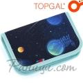 Topgal Ученически несесер с един цип PENN 21015