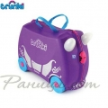 Trunki  Детски куфар 3 в 1 Ride-on DELUXE Princess Limited