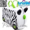 Trunki Детски куфар за яздене 3 в 1 Ride-on Zimba The Zebra DELUXE