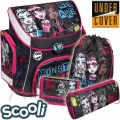 2015 UnderCover Scooli Monster High Ергономична раница 25038