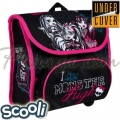 UnderCover Scooli Детска раница за детска градина Monster High 24410