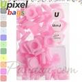 2015 Upixel bags Малки силиконови чипове Pink WY-P002-B