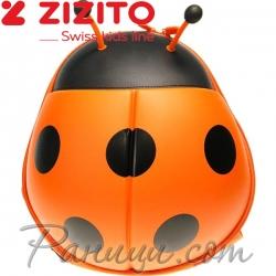 Zizito Детска раничка Ladybug Orange ONL30002404