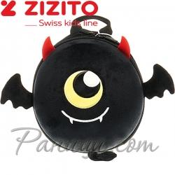 Zizito Детска раница Дяволче в черно ONL30002444